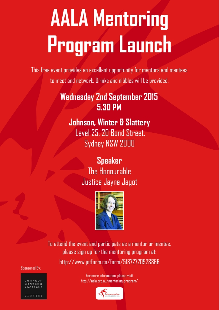 Flyer for Program NSW